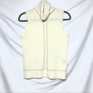 Bogari Turtleneck Sleeveless Sweater
